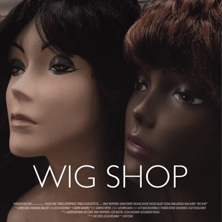 wig shop premiered! the hamptons film fest saw! proud of this piece made by kick ass women