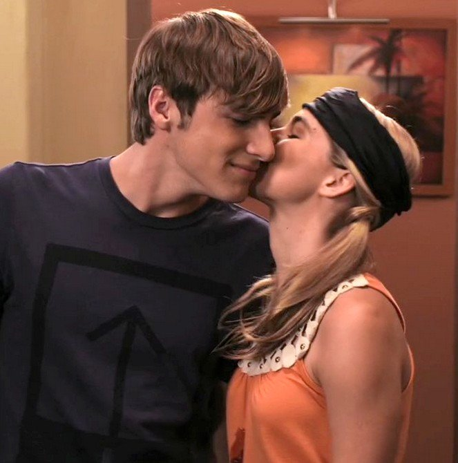 James helps Camille run lines for an audition and they end up kissing!