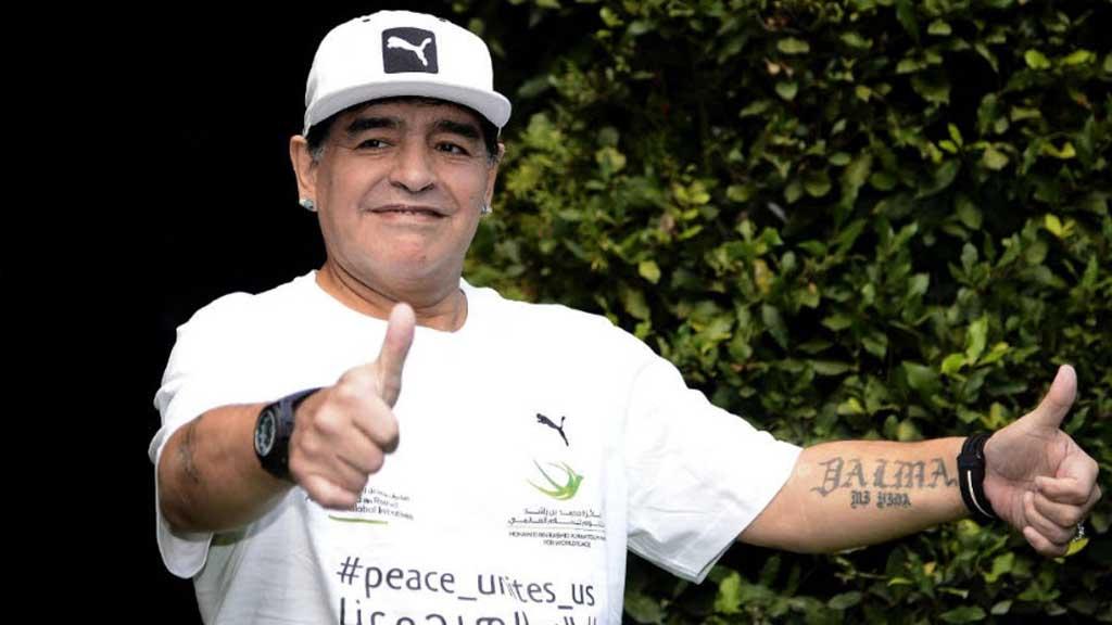 Partita Interreligiosa Della Pace: Maradona le spara grosse su Icardi, Higuain e sul calcio in generale.
