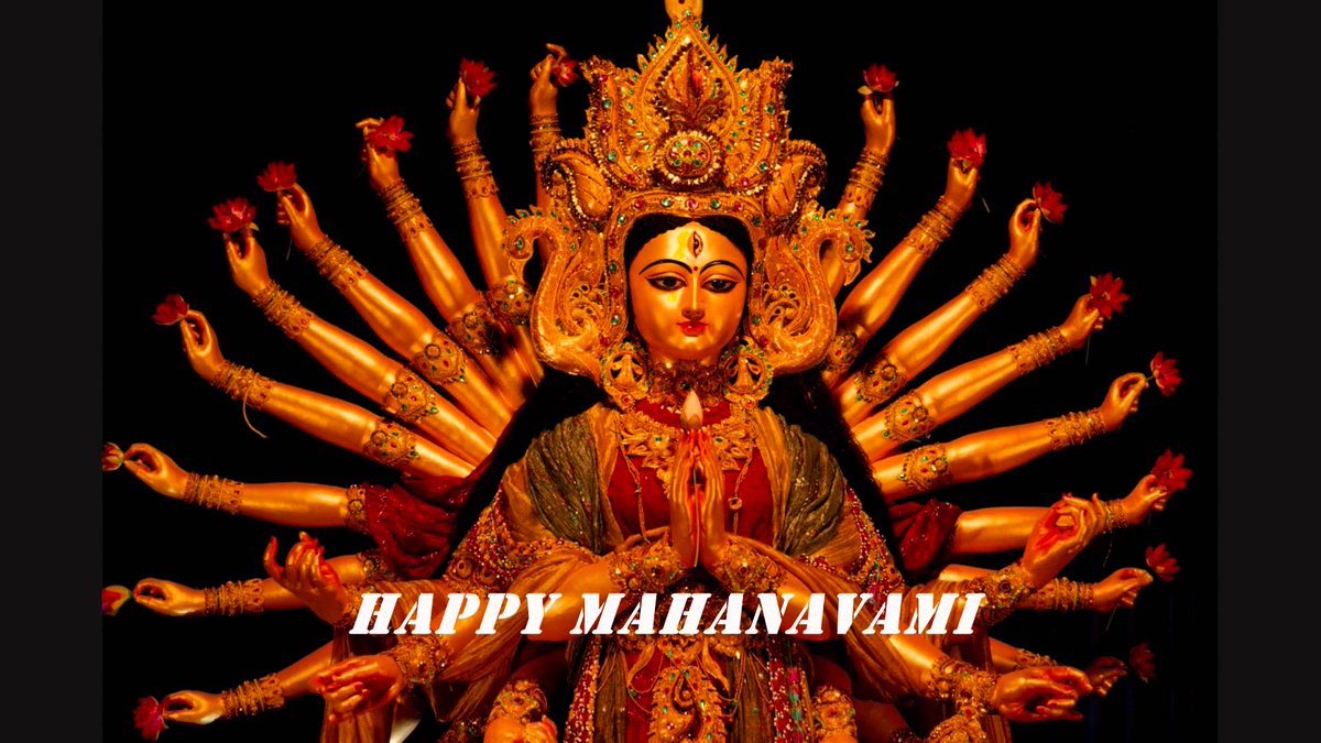 Happy MahaNavami : Navratri   IMAGES, GIF, ANIMATED GIF, WALLPAPER, STICKER FOR WHATSAPP & FACEBOOK
