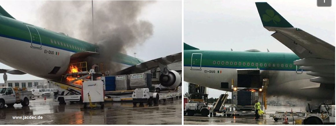 Aerlingus A330 Fire In Cargo Hold Airliners Net