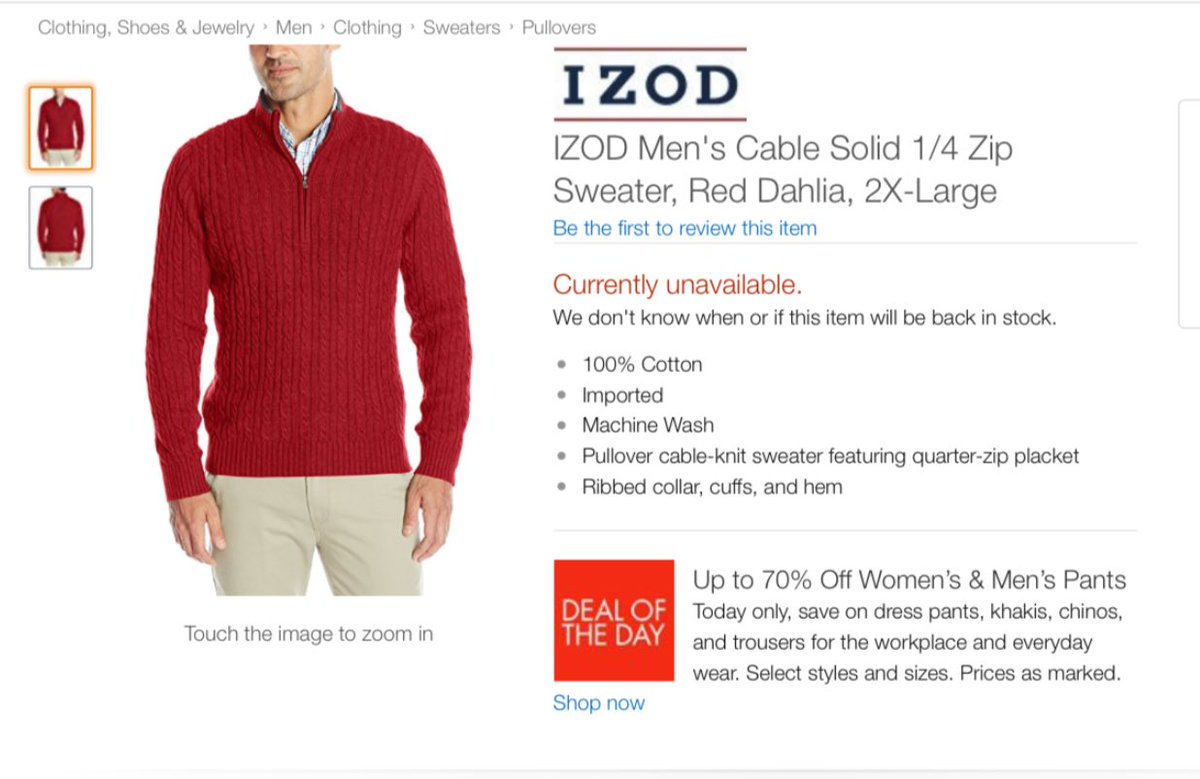 BREAKING: The Ken Bone sweater has sold out https://t.co/q9FnjeuNPa