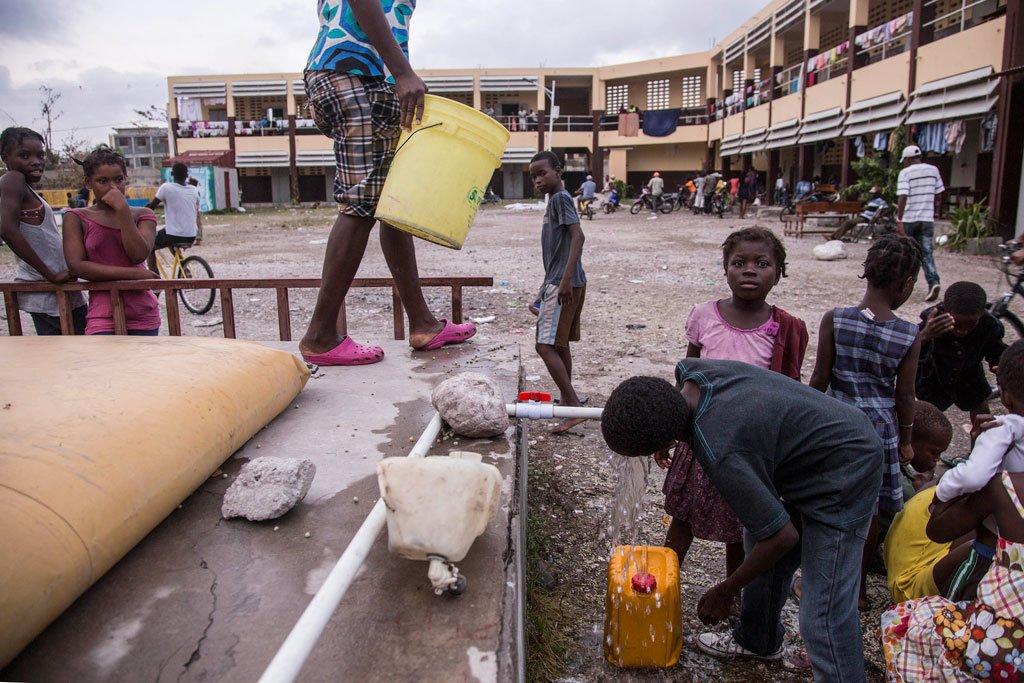 Haiti Needs 'Massive Response' to Halt Cholera Crisis After Matthew: U.N.