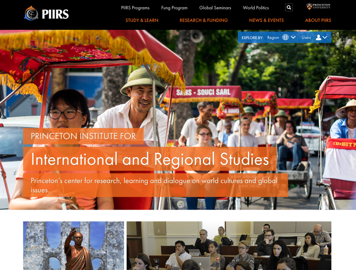 Princeton University Twitter Explore Research Initiatives