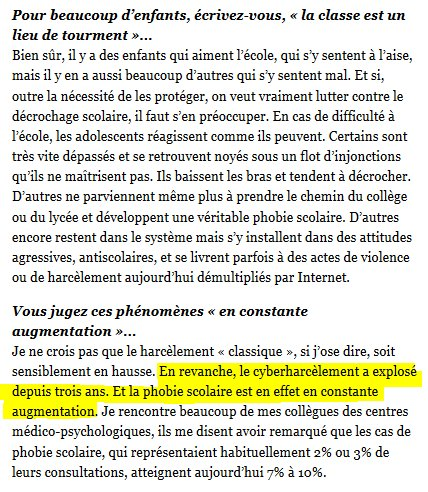 harcèlement au college wikipedia