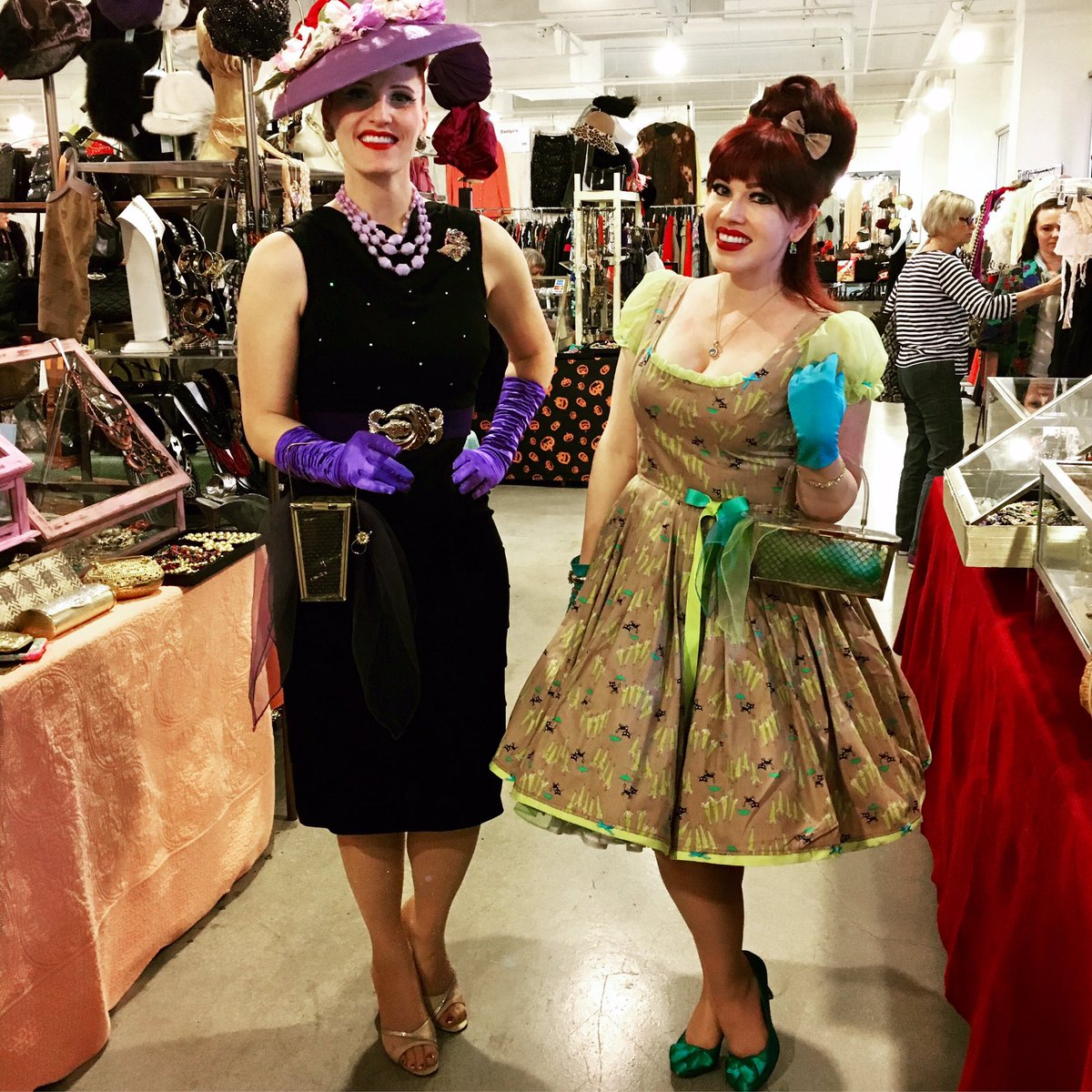 Vintage fashion expo san
