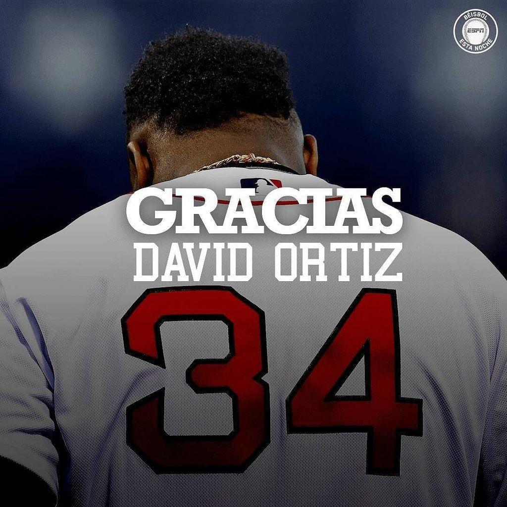 David Ortiz se despidió del béisbol, no como él quería, sumando un anillo más, pero dejó números impresionantes en … https://t.co/naRmyQPmZ3