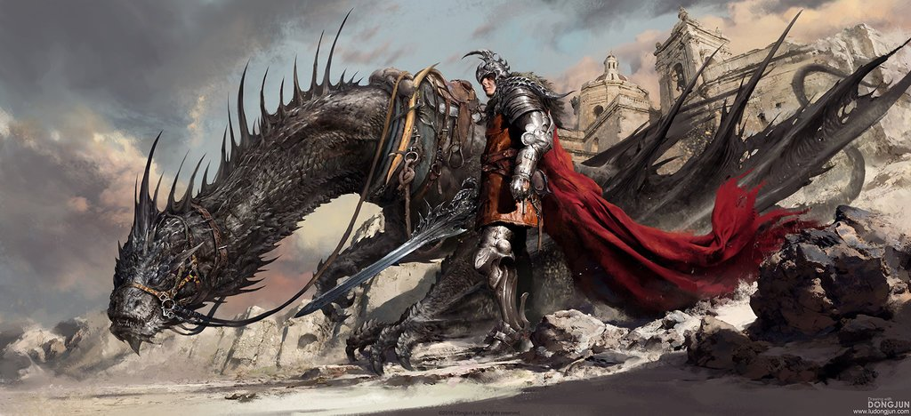 Black Dragon Knight * Free gifts, & help #animals too! See: elephantlivesmatter.org * Please RT