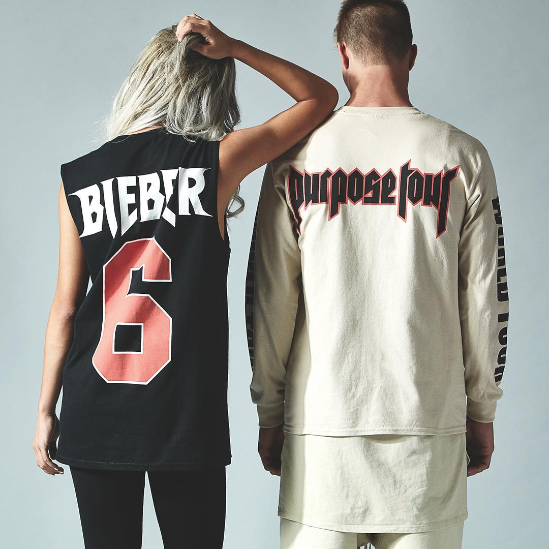 .@JustinBieber's Purpose Tour merch is coming to @PacSun: https://t.co/O3wIZ0nC7m https://t.co/ozLeeicDGe