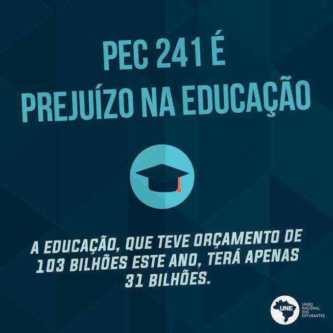 Cortar dinheiro da educação é cortar bolsas de pesquisa, extensão, salário dos professores e a assistência estudant… https://t.co/1X4YxRtv6Q
