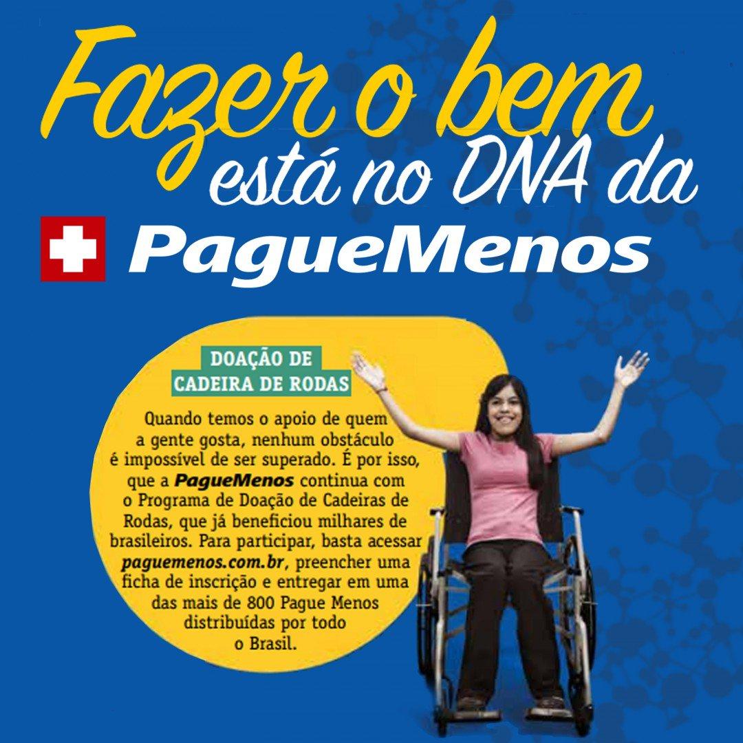 O Programa Doação de Cadeira de Rodas já beneficiou milhares de brasileiros e ... https://t.co/VoxAorUmRF https://t.co/4uqlX9gr8i
