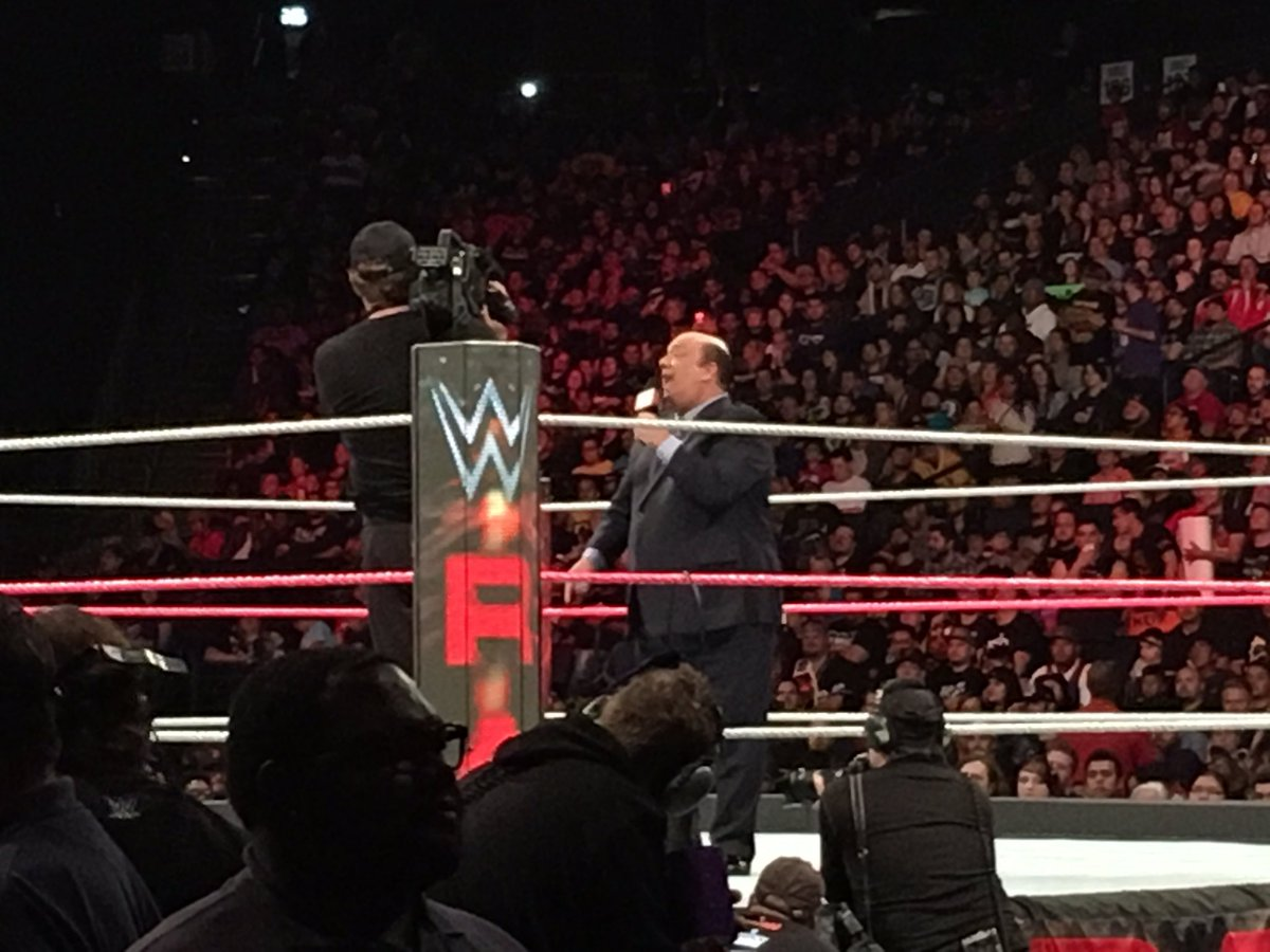 WHAT IS HAPPENING?! @HeymanHustle just challenged @Goldberg to a fight on the authority of @BrockLesnar! #WWE2K17 c… https://t.co/3G5qt1Ezja