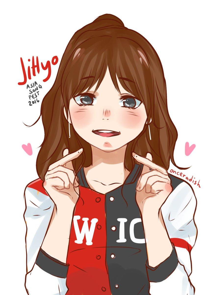 TWICE JIHYO Art/Drawings Pinterest Fanart and Kpop