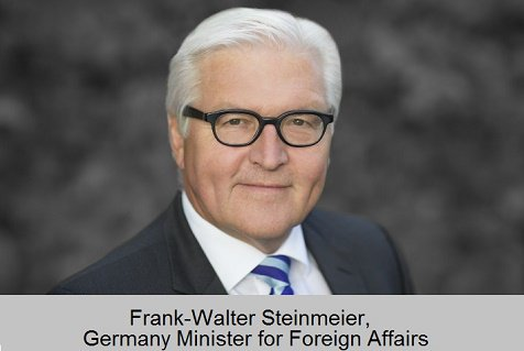German Foreign Affairs Minister Steinmeier paid a one-Day official visit to ECOWAS to consolidate the growing cooperation between Germany and ECOWAS