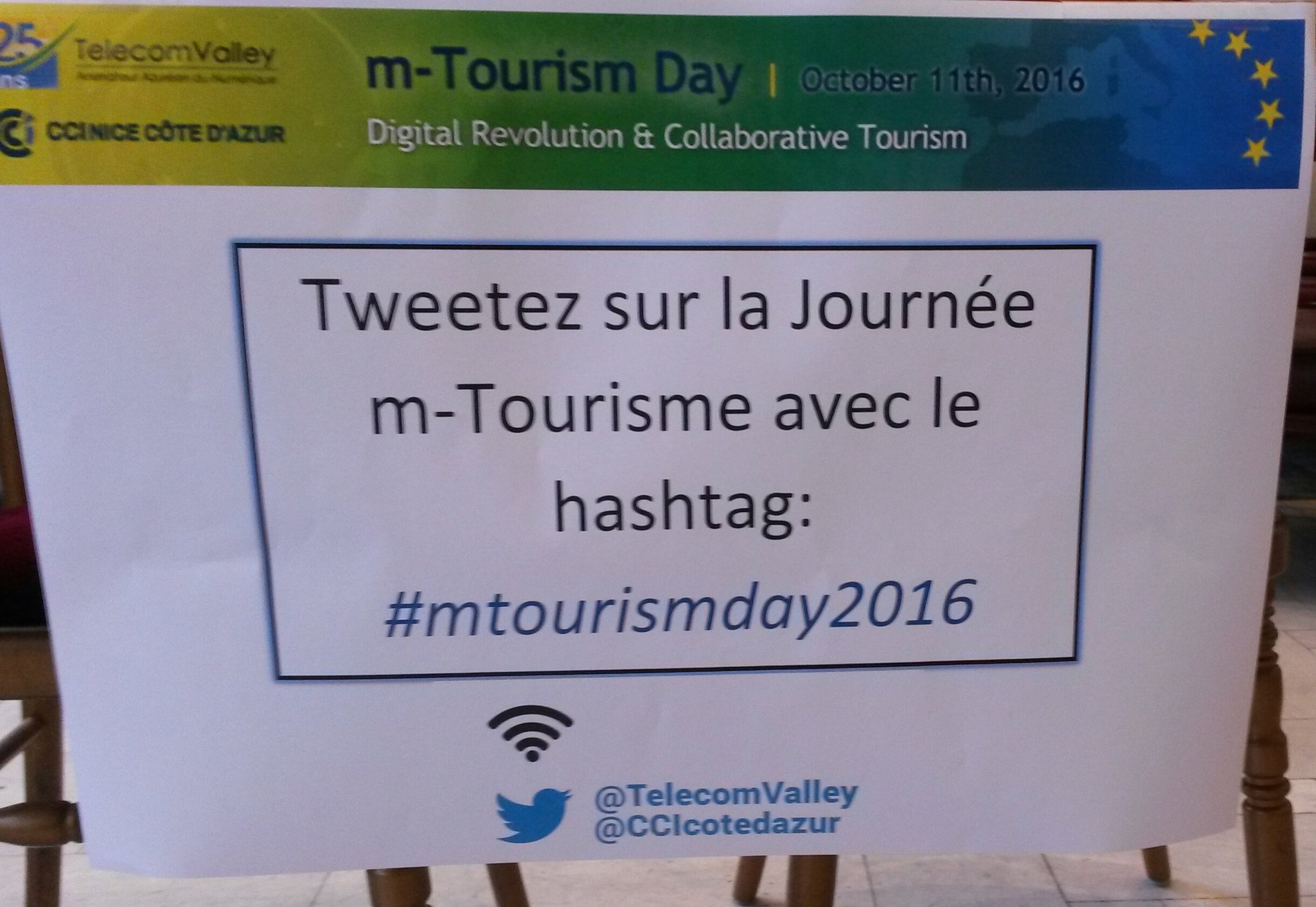 #mtourismday2016 @CCIcotedazur ..ça va commencer! https://t.co/WtfJbGT3iY