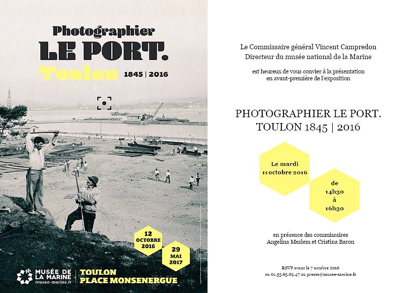 "Thumbnail for ""Photographier le port"" un vernissage à #Toulon comme si vous y étiez"