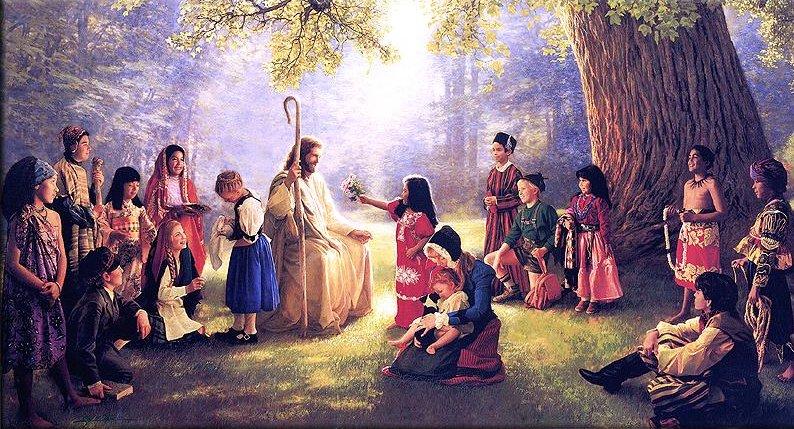 Jesus loves all! https://t.co/eO5UCrlbw3