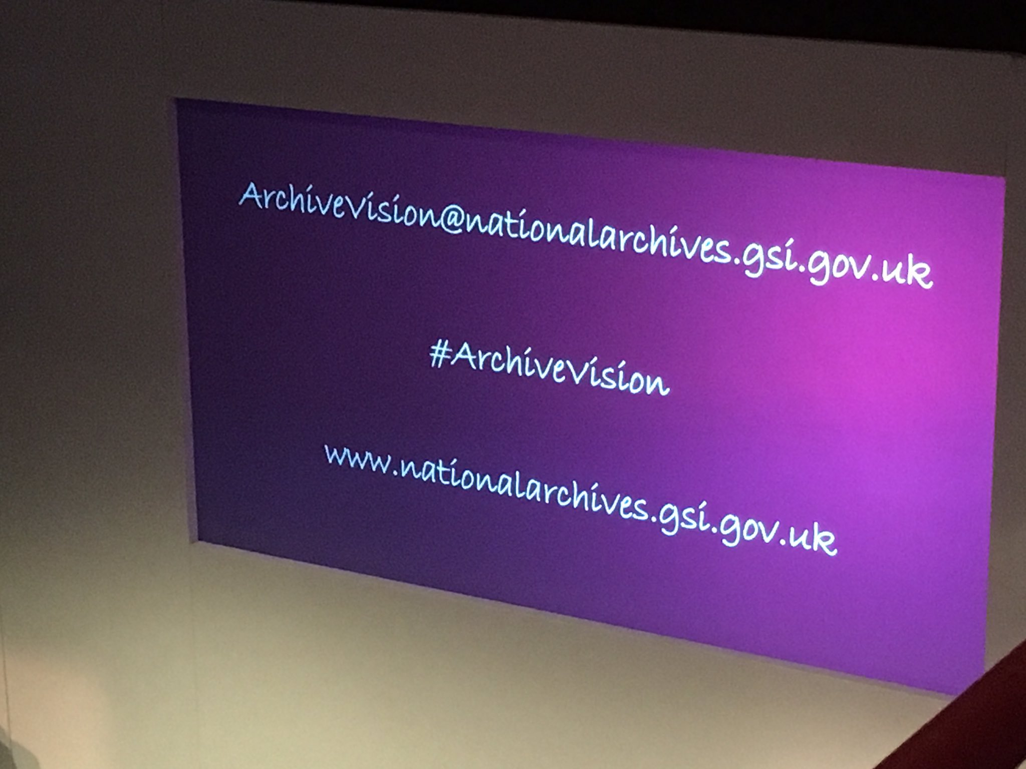 Find out more about #Archivevision! (Try not to get distracted by the font choice.) #DCDC16 https://t.co/qy3W0YwbhS