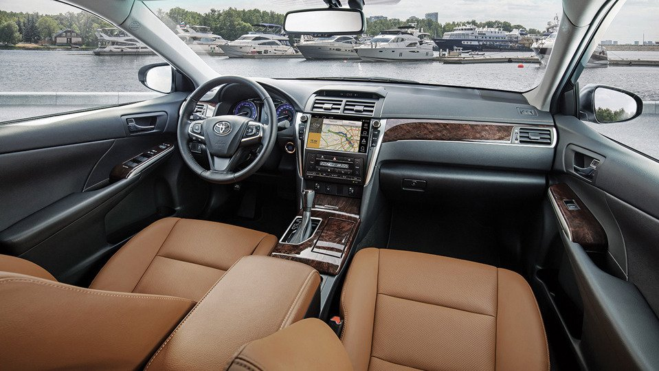 Toyota Camry 2017 - цена и комплектации | Тойота Центр ...