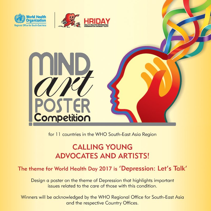 WHO South East Asia On Twitter Participate In Our Poster Making