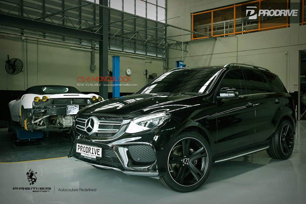 premier edition uk on twitter mercedes gle fitted with 10x22 inch cs5 wheels by prodrive. Black Bedroom Furniture Sets. Home Design Ideas