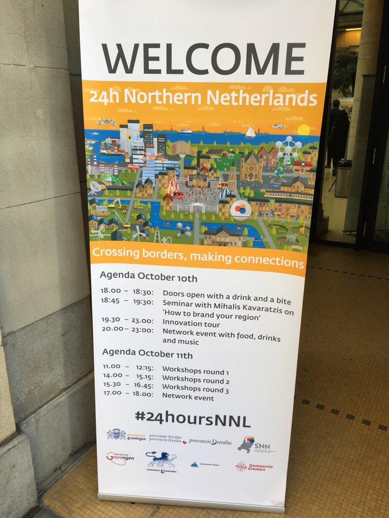 Hier dus! #24hoursNNL te Brussel. Vandaag over de kracht van circulaire ontwikkeling in NNL. https://t.co/QgrdgzBCCF