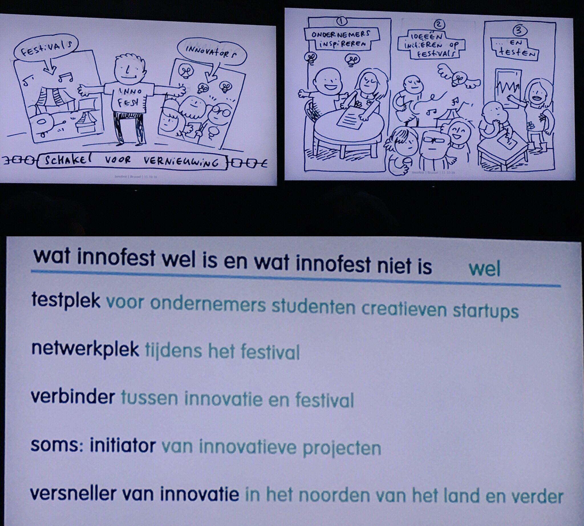 Innofest bij #24hoursNNL in Brussel > festivals als proeftuin voor innovatie! https://t.co/XDfJaiDegI