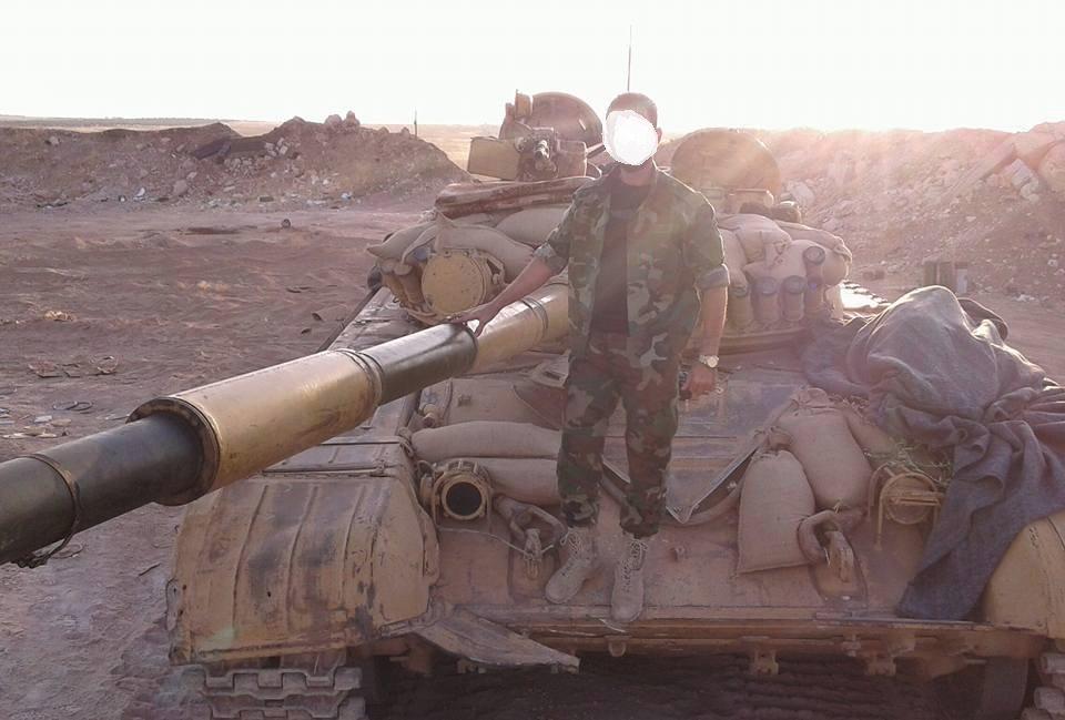الوحش الفولاذي لدى قوات الجيش السوري .......الدبابه T-72  - صفحة 3 CufSCIFWYAINjaT