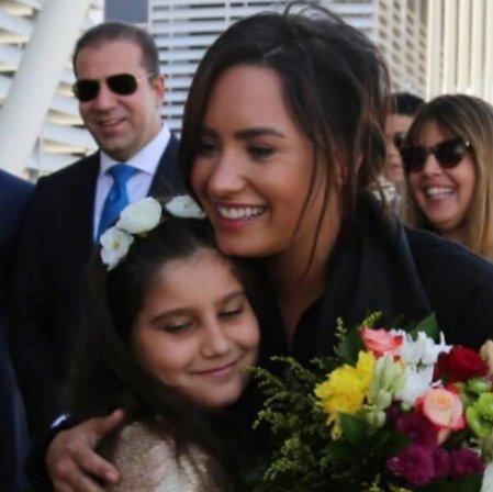 Demi Lovato viaja ao Iraque para auxiliar refugiados https://t.co/pykkB5NBlB
