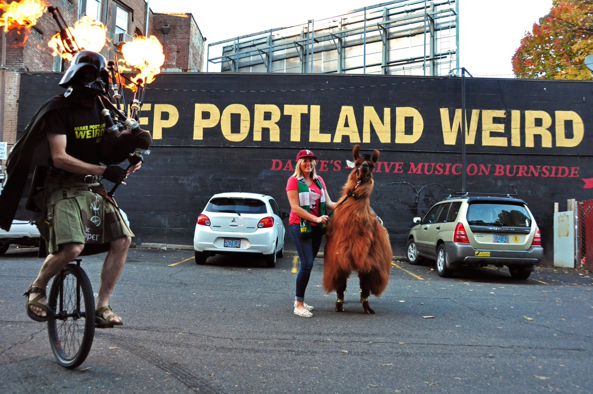 Keep Portland Weird Darth Vader 8