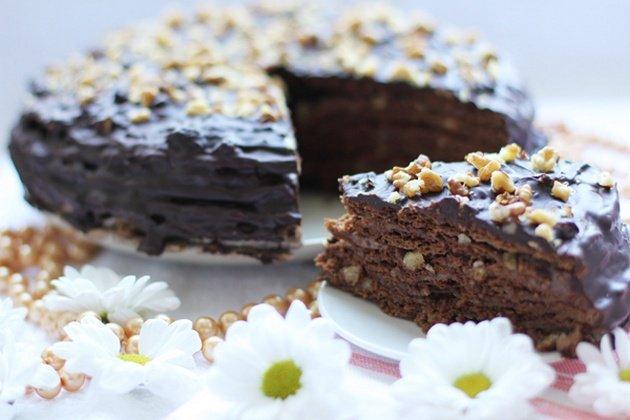 Медовый торт рецепт на водяной бане