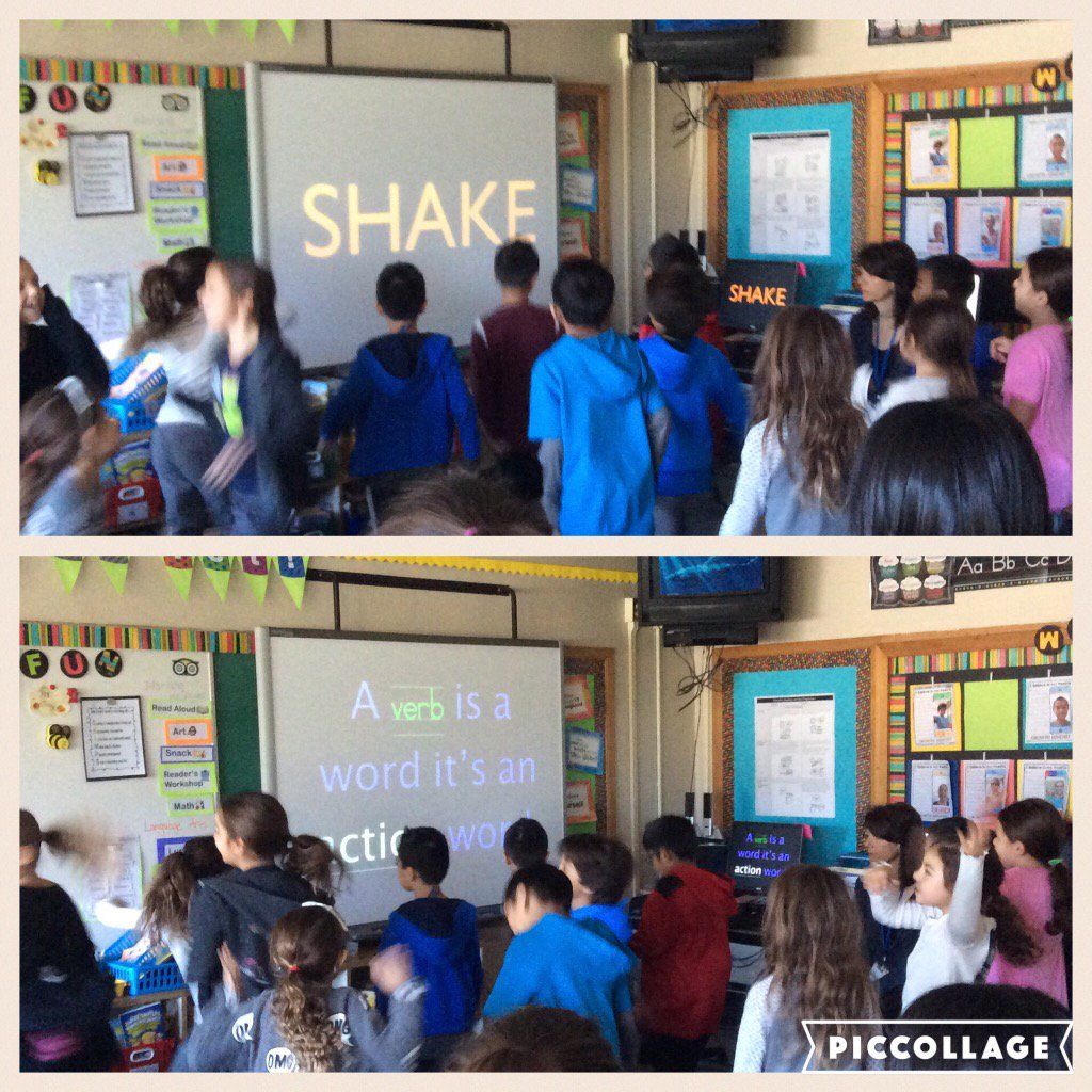 Verbs in action! Shake,clap,jump....@Ivysherman #seamanstrength https://t.co/WQe5sMdDlp