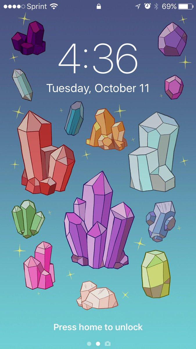 Adam Ellis On Twitter I Made A Magic Crystal Iphone