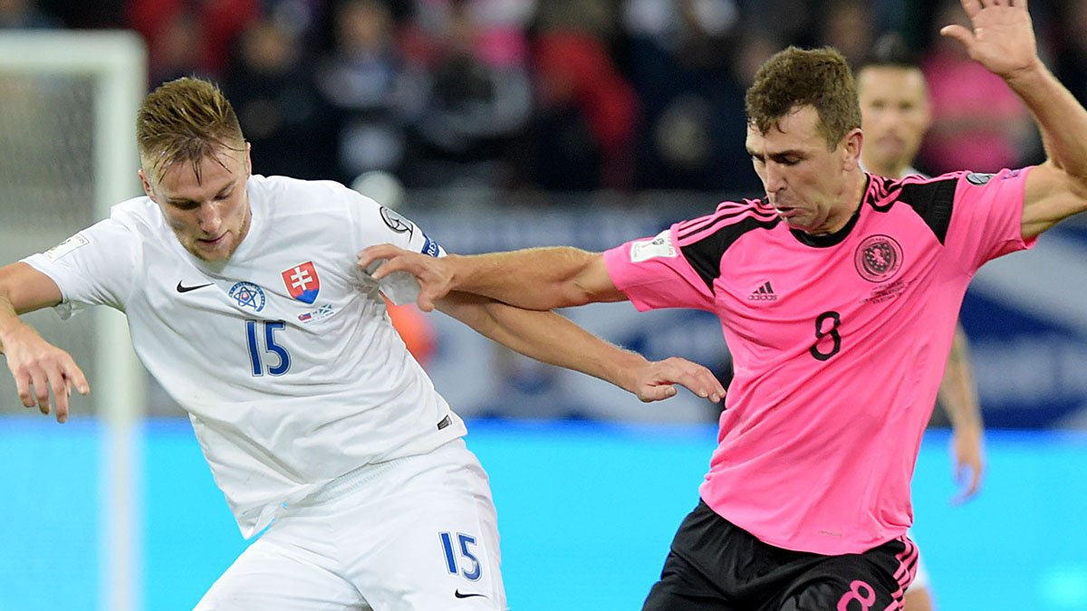 Video: Slovakia vs Scotland