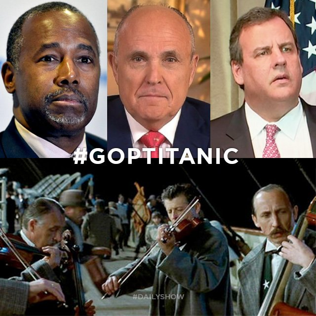 The Daily Show Recast the Titanic With Republicans, and It's the Best Thing You'll See All Day