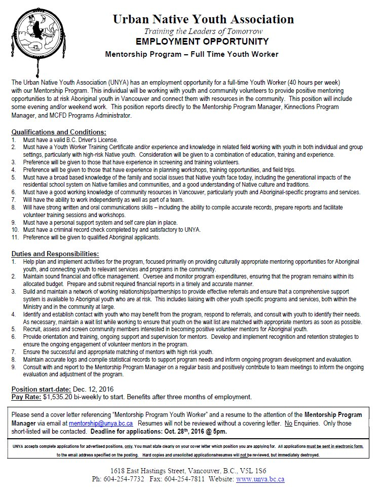 cover letter canada youth - Youth Worker Cover Letter