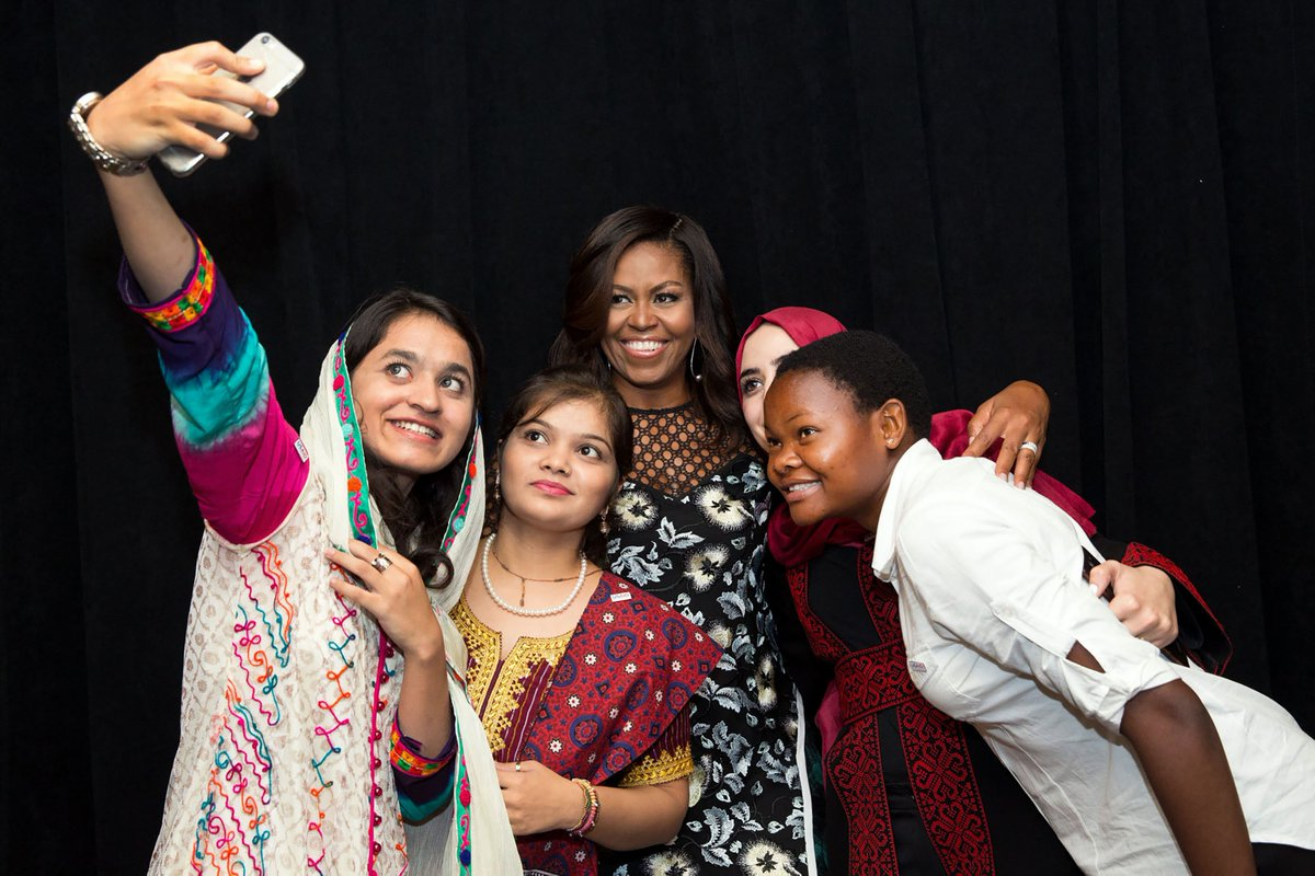 This is the beginning of something huge.—@FLOTUS on #LetGirlsLearn. An educated girl can change the world!… https://t.co/ogt1yEZ3mc