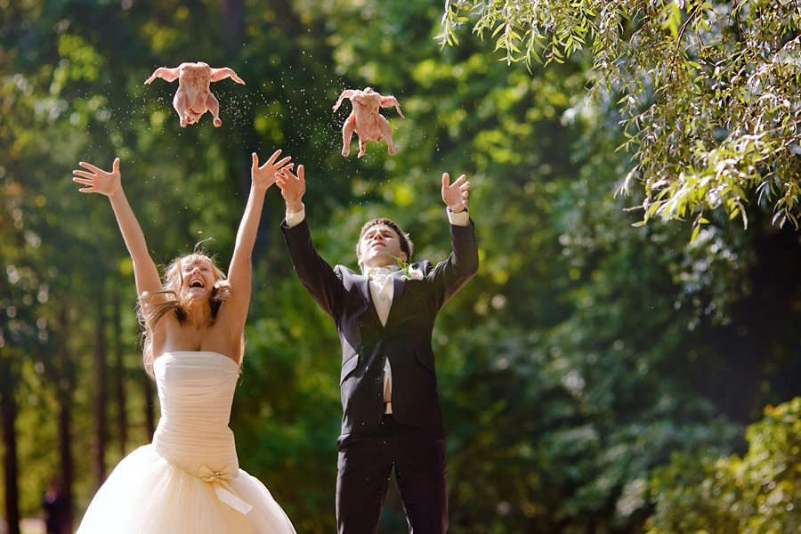 Прикольное свадебные картинки