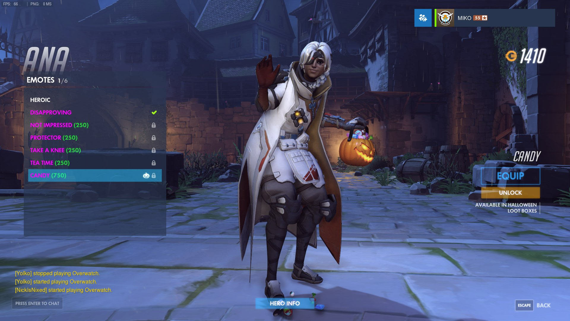 """Ana Emotes overbuff on twitter: """"halloween is full of new emotes as"""