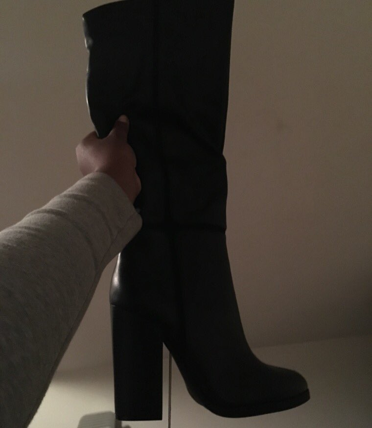 Submissive boot and heel fetish