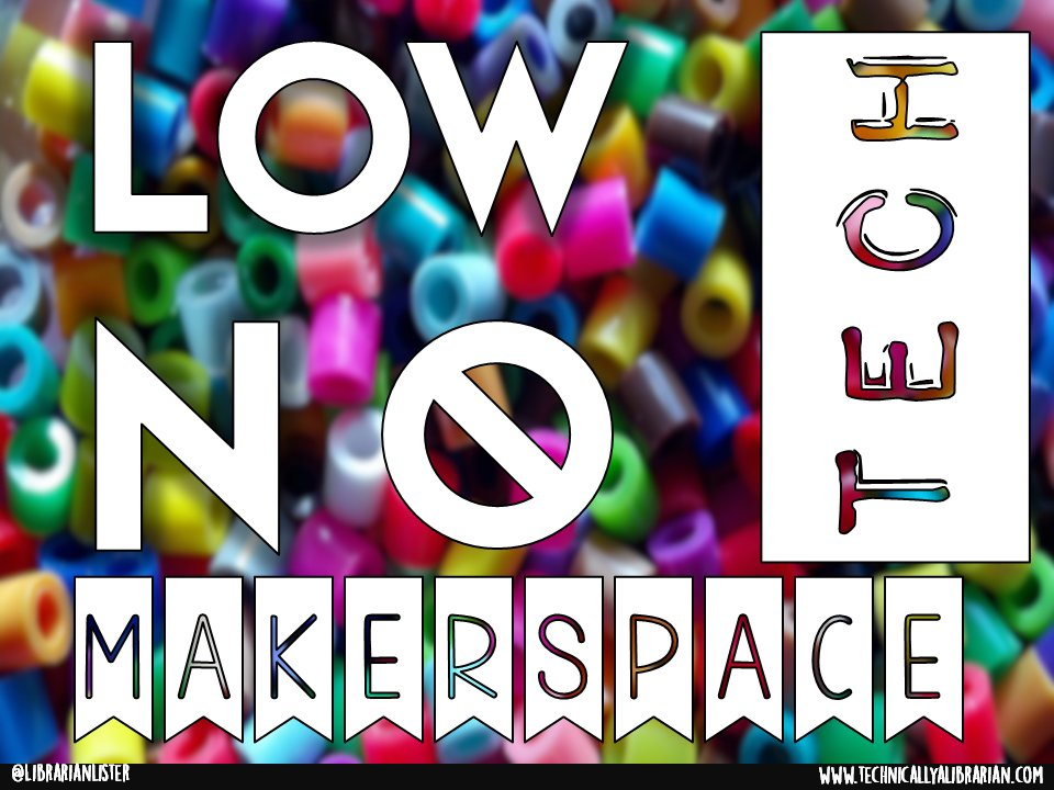 A1: Here is my Low-Tech No Tech Maker presentation with LOTS of easy projects! https://t.co/HmIvmhaDbc #txlchat https://t.co/cE4JcMmvlA