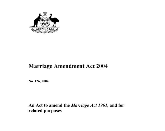 The last time we changed the definition of marriage. Oo, look: just an act of parliament. https://t.co/2eiVqysuxT