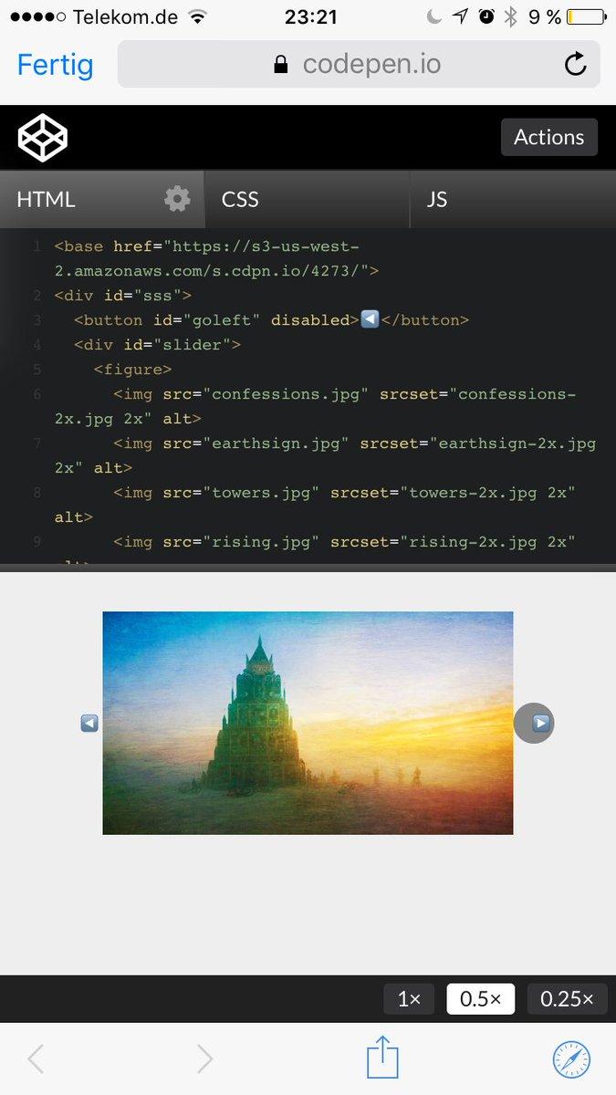 Text Slider Codepen