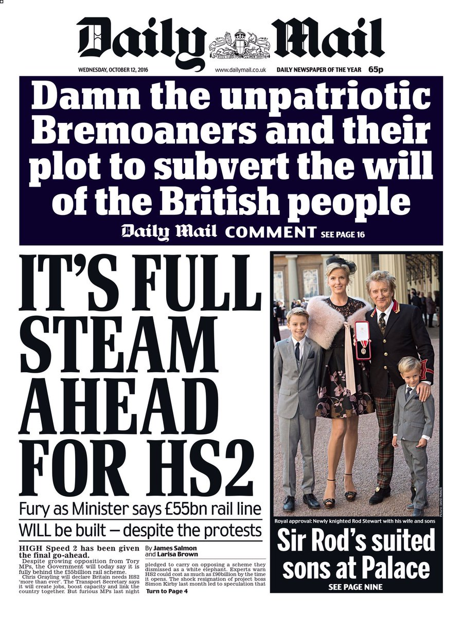 Attention all Remainers: Tomorrow night's subversive plot meeting is off. The Mail's onto us. https://t.co/0WsYBEsNUc
