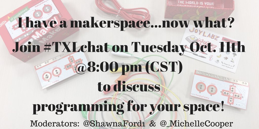 Join us for #txlchat at 8:00 CST https://t.co/QhSv61sagB