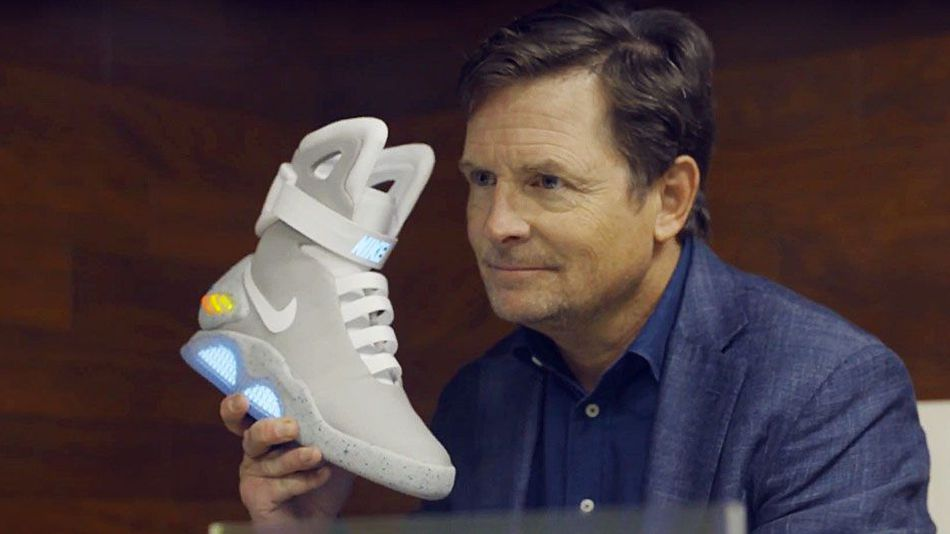 Nike Mag self-lacing sneakers fetch $104,000 at Hong Kong auction
