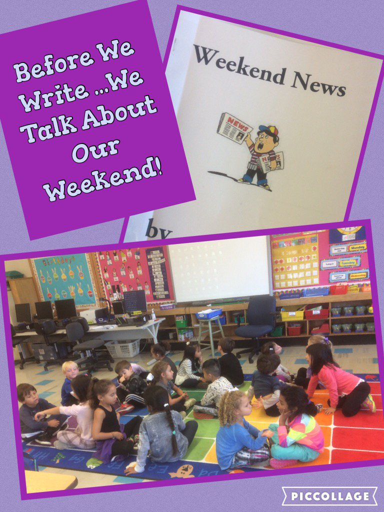 Listening...Talking...Writing...About Our Weekends! @Ivysherman #seamanstrength https://t.co/9rXAPi2RAq