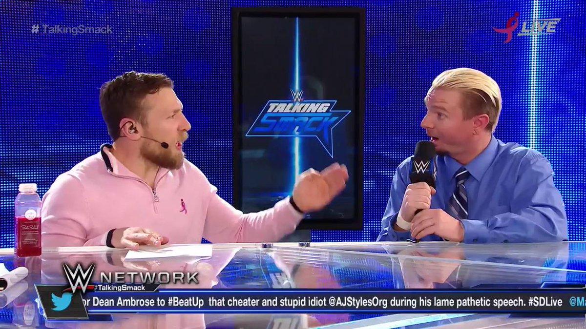 BLOCKBUSTER NEWS by Daniel Bryan: JAMES ELLSWORTH will get a WORLD TITLE MATCH vs. AJ Styles NEXT WEEK on #SDLive!  https://t.co/ijQAtEPkLS