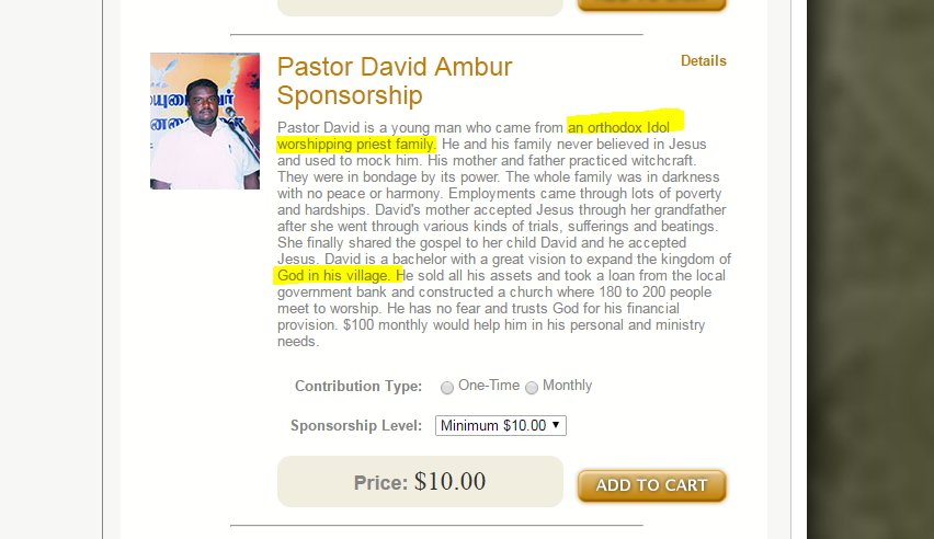 #SICKularConversions #noconversion  Pastors sponsored by foreign churches they have only one job convert HINDUS by any means  @KirenRijiju<br>http://pic.twitter.com/e9pXSGYeTR