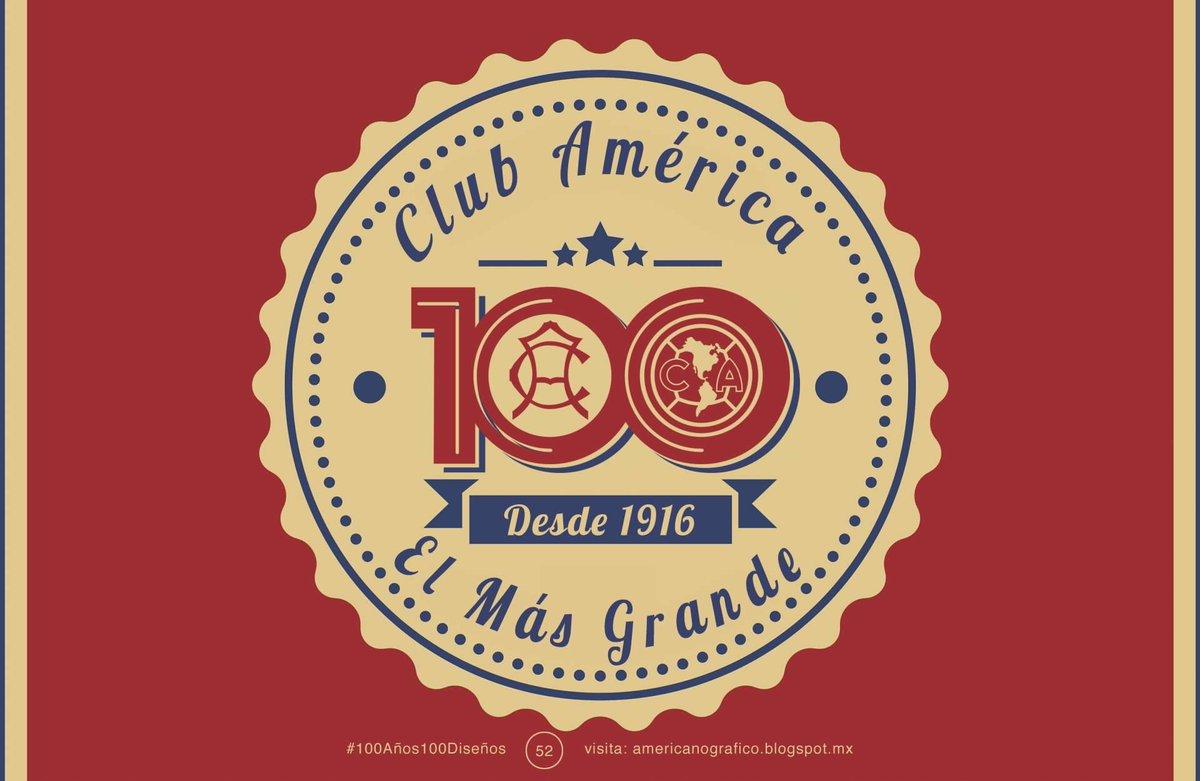 Felicidades a todos los que somos #Americanistas #100AñosDeGrandeza @ClubAmerica https://t.co/nTJyQAjcBw